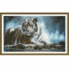 """Набор для вышивания крестом Нова Слобода СР-2242 """"Амурский тигр"""""""