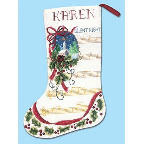 Набор для вышивания Janlynn 021-1913 Silent Night Stocking фото
