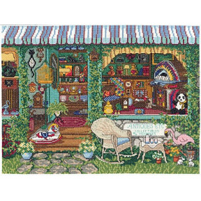 Набор для вышивания Janlynn 032-0101 Antiques, Etc фото