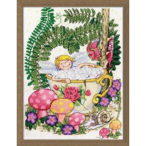 Набор для вышивания Design Works 3236 Teacup Fairy фото