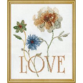 Набор для вышивания Design Works 2980 Love фото