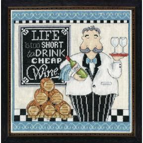Набор для вышивания Design Works 2864 Cheap Wine фото