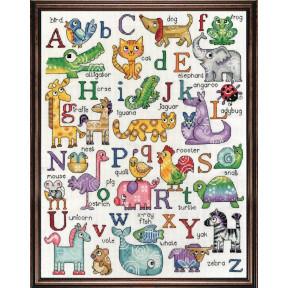Набор для вышивания Design Works 2852 ABC Sampler фото