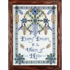Набор для вышивания Design Works 2354 Vision Of Hope фото