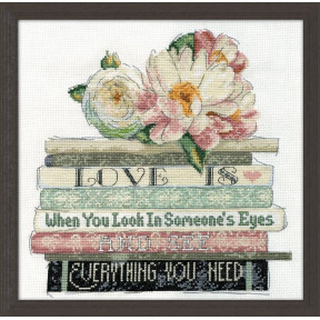 Набор для вышивания Design Works 2979 Love Is фото