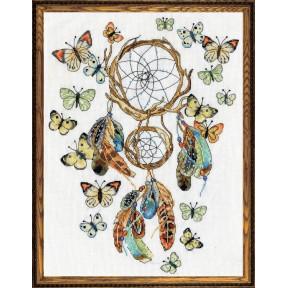Набор для вышивания Design Works 2937 Butterfly Dreams фото