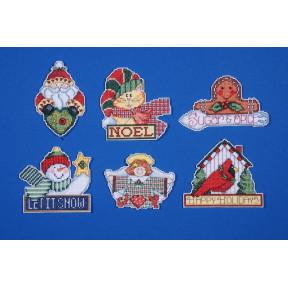 Набор для вышивания Design Works 1676 Signs Of Christmas фото