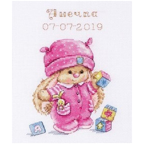 Набор для вышивки крестом Алиса 0-188 Зайка Ми малышка фото