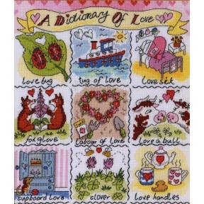 Набор для вышивания крестом Bothy Threads XDO11 Dictionary of