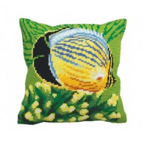 """Подушка для вышивания крестом Collection D'Art 5150 """"Tropical"""
