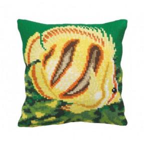 """Подушка для вышивания крестом Collection D'Art 5151 """"Tropical"""