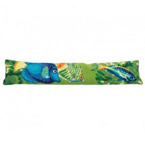 """Подушка для вышивания крестом Collection D'Art 5152 """"Tropical"""