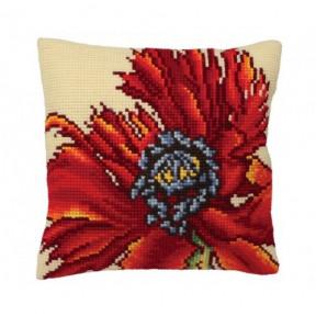 """Подушка для вышивания крестом Collection D'Art 5167 """"Flaming"""