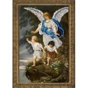 Набор для вышивания бисером КиТ 90715 Ангел хранитель 1 фото