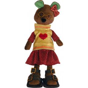 Набор для шитья мягкой игрушки ZooSapiens М3037 Душечка Мишка