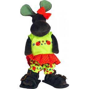 Набор для шитья мягкой игрушки ZooSapiens М3040 Бегемотик Мотик