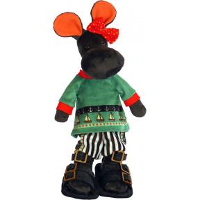 Набор для шитья мягкой игрушки ZooSapiens М3041 Бегемотик