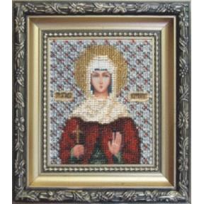 Набор для вышивания бисером Б-1027 Икона Св.М.Наталии