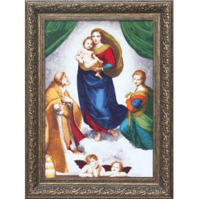 Набор для вышивки Золотое Руно МК-044 Сикстинская Мадонна фото