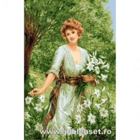 Набор для вышивания гобелен Goblenset G1090 Запах лилий фото