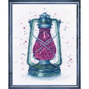 Набор для вышивки крестом Овен 1164 Загадочный свет