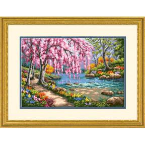 Набор для вышивки крестом Dimensions 70-35374 Cherry Blossom
