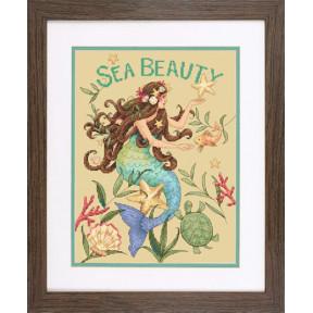 Набор для вышивки крестом Dimensions 70-35376 Sea Beauty фото