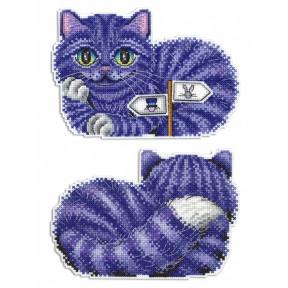Набор для вышивки крестом МП Студия Р-402 Чеширский кот фото