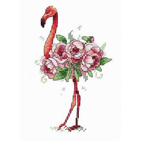 Набор для вышивки крестом МП Студия  В-254 Фламинго