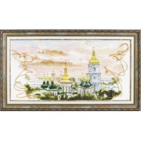 Набор для вышивки крестом Чарівна Мить М-320 Золотые купола фото