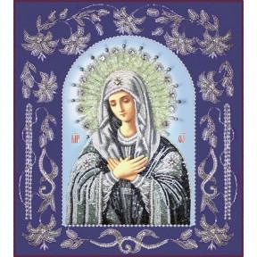 Набор для вышивания бисером Изящное Рукоделие БП-115 Богородица