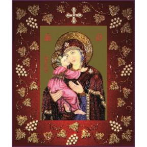 Набор для вышивания бисером Изящное Рукоделие БП-117 Богородица