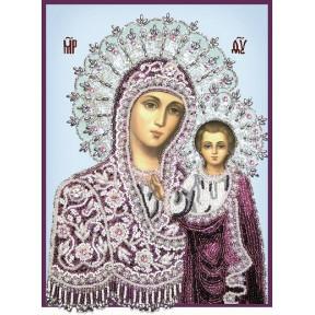 Набор для вышивания бисером Изящное Рукоделие БП-125 Богородица