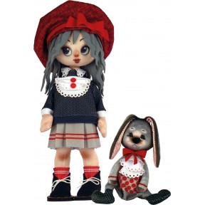 Набор для шитья куклы и мягкой игрушки ZooSapiens К1073 Девочка