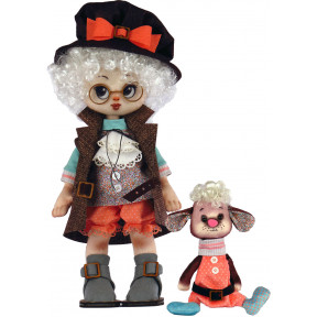 Набор для шитья куклы и мягкой игрушки ZooSapiens К1076 Мальчик