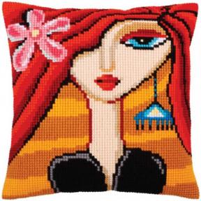 Подушка для вышивания крестом Collection D'Art 5281 фото