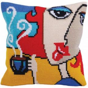 Подушка для вышивания крестом Collection D'Art 5279
