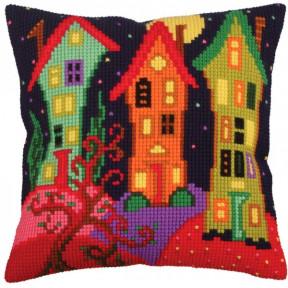 Подушка для вышивания крестом Collection D'Art 5258 фото