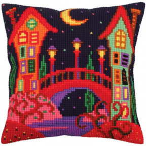 Подушка для вышивания крестом Collection D'Art 5257 фото