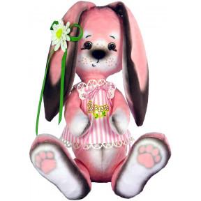 Набор для шитья мягкой игрушки ZooSapiens М4005 Зайка в розовом