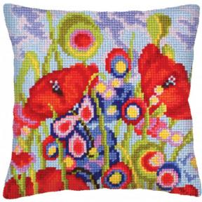 Подушка для вышивания крестом Collection D'Art 5234 фото
