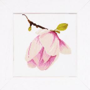 Набор для вышивания Lanarte PN-0008303 Magnolia Bud фото