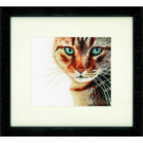 """Набор для вышивания Lanarte PN-0021202 Cat Close-up """"Кот"""