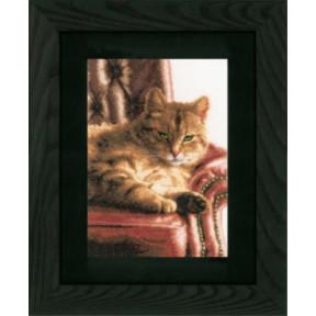 Набор для вышивания Lanarte PN-0021762 Relaxed Tabby