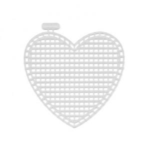 Канва пластиковая Гамма KPL-05 сердце фото