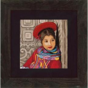 """Набор для вышивания Lanarte PN-0148513 Perwian Girl """"Перуанка"""""""