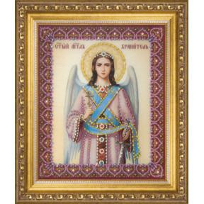 """Набор для изготовления картины со стразами Чарівна Мить """"Икона Ангела Хранителя""""  КС-131"""