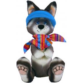 Набор для шитья мягкой игрушки ZooSapiens Хаски М4019 фото