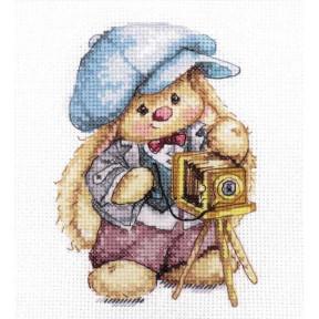 """Набор для вышивки крестом Алиса """"Зайка Ми. Фотограф""""  0-192"""