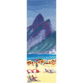 Схема для вышивания Heritage Crafts Ipanema Beach HC853